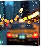 Raw, Wet & Cold Acrylic Print