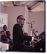 Ray Charles Performs At Newport Acrylic Print