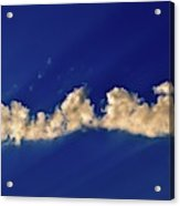Rays And Clouds  Acrylic Print