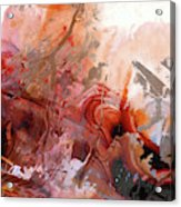 Red Abstract Art - The Vineyard - Sharon Cummings  Acrylic Print
