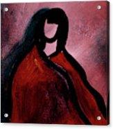 Red Blanket Acrylic Print