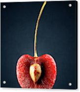 Red Cherry Still Life Acrylic Print