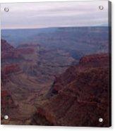 Red Grand Canyon Acrylic Print