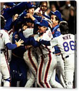Red Sox V Mets Acrylic Print