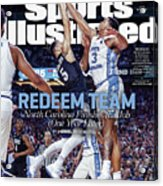 Redeem Team North Carolina Finishes The Job one Year Later Sports Illustrated Cover Acrylic Print