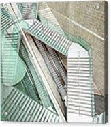 Reflected Modern Architecture - Winding Acrylic Print