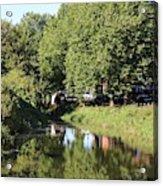 Reflections Of Bridgewater Canal - 1 Acrylic Print