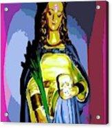 Religious Vision Acrylic Print