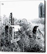 Retired John Deere Tractor 1 Acrylic Print