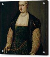 Retrato De Mujer   Acrylic Print