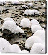 Rhine Winter Acrylic Print