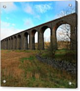 Ribblehead Viaduct On The Settle Carlisle Railway North Yorkshire Acrylic Print