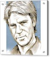 Richard Dean Anderson Color Acrylic Print