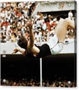 Richard Fosbury Jumping High Bar Acrylic Print