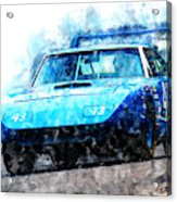 Richard Petty Superbird Acrylic Print