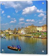 Richmond Upon Thames - Panorama Acrylic Print