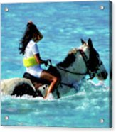 Ride The Dream Acrylic Print