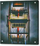 Ride The Ferris Wheel Acrylic Print