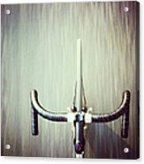 Riding  Bicycle Acrylic Print