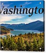 Riffe Lake, Washington Acrylic Print