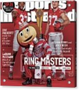 Ring Masters 2015 College Football Preview Issue Sports Illustrated Cover Acrylic Print