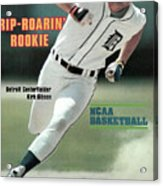 Rip-roarin Rookie Detroit Centerfielder Kirk Gibson Sports Illustrated Cover Acrylic Print