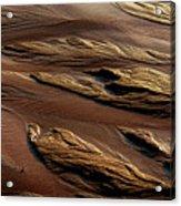 River Of Sand Acrylic Print