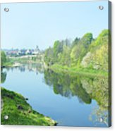 river tweed at Coldstream Acrylic Print