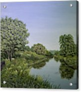 River Wey Acrylic Print