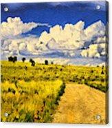 Road To Nowwhere Acrylic Print