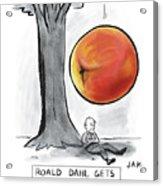 Roald Dahl Gets A Book Idea Acrylic Print