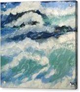 Roaring Ocean Acrylic Print