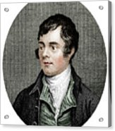 Robert Burns, Scottish Poet, 1877 Acrylic Print