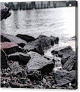 Rock Bridge Acrylic Print