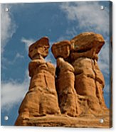 Rock Formation In Arches National Park Acrylic Print