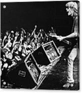 Rock Singer Tom Petty In Concert Acrylic Print