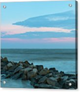 Rocky Shores Sunrise Acrylic Print