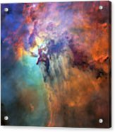 Roiling Heart Of Vast Stellar Nursery Acrylic Print