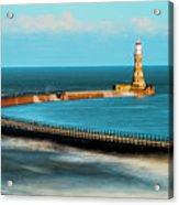 Roker Pier Acrylic Print