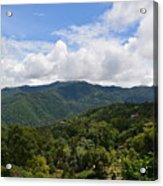 Rolling Hills, Open Sky Acrylic Print