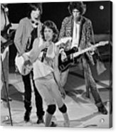 Rolling Stones Performing At Meadowlands Acrylic Print