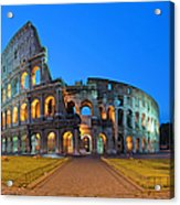 Rome Coliseum Ancient Roman Acrylic Print