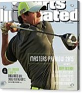 Rorys Moment 2014 British Open Sports Illustrated Cover Acrylic Print