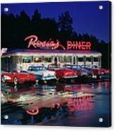 Rosies Diner Acrylic Print