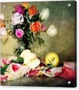 Rosy Pallet Acrylic Print