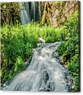 Roughlock Waterfalls In Lead, South Acrylic Print