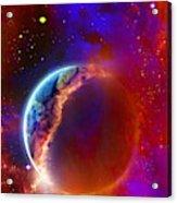 Ruptured Moon Acrylic Print