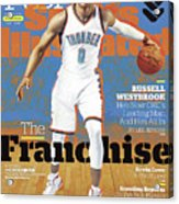 Russell Westbrook, The Franchise 2016-17 Nba Basketball Sports Illustrated Cover Acrylic Print