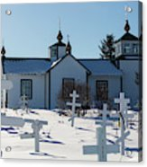 Russian Orthodox Church Ninilchik Alaska Acrylic Print