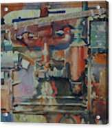 Rusty Engine  Acrylic Print